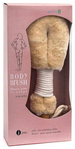 Bath Jute Body Brush Womens