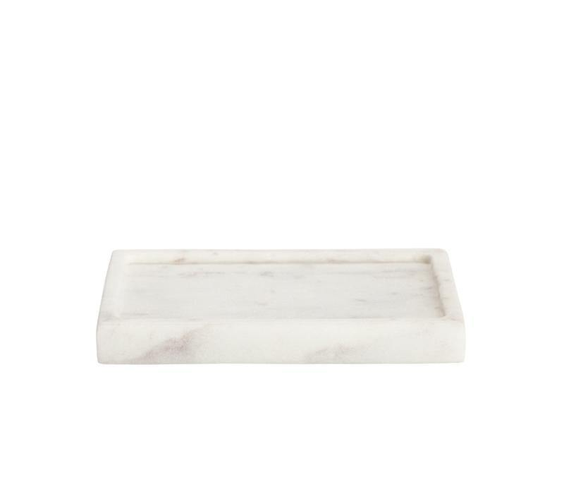 Bath Rectangle Marble Soap Dish