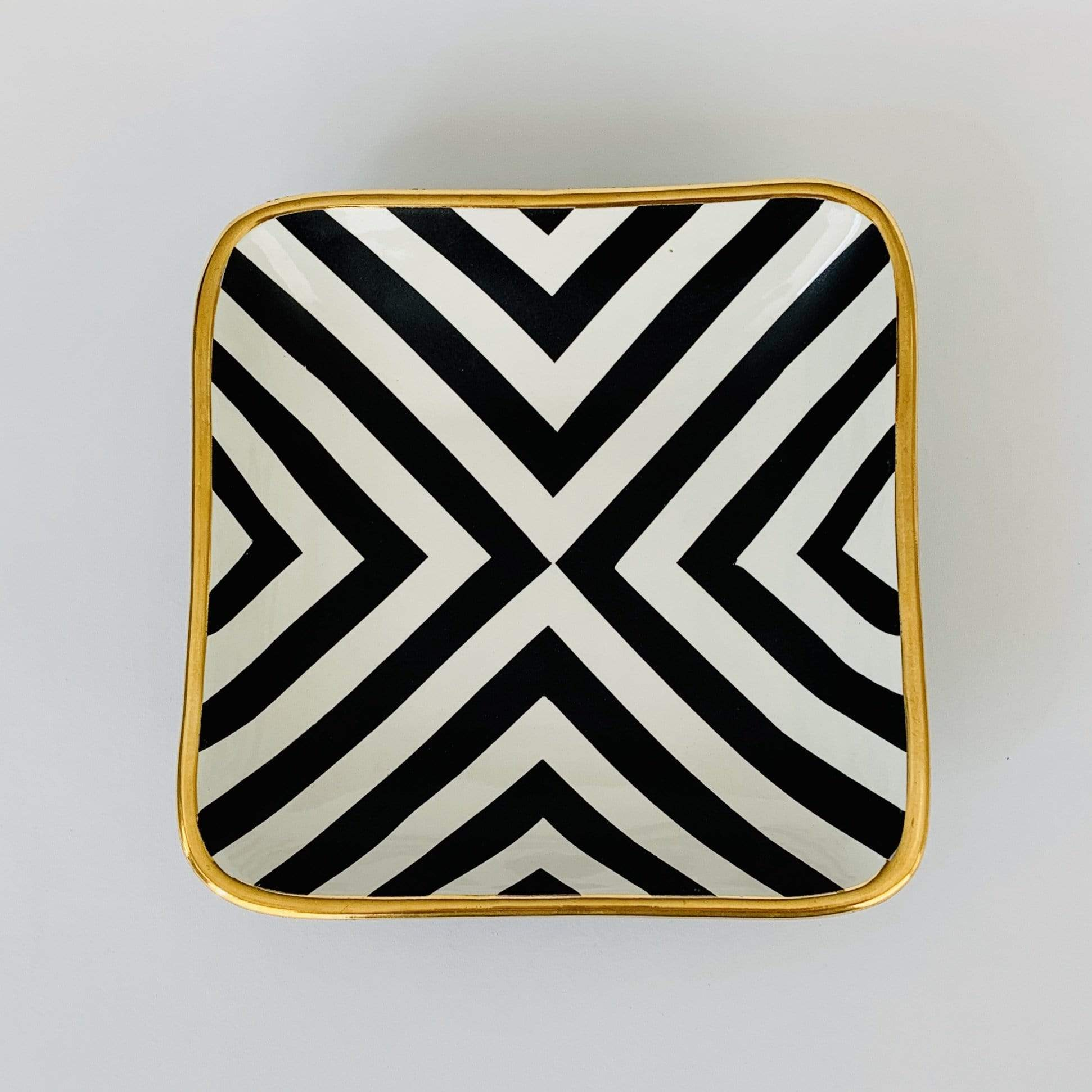 Square Cross Design Bowl