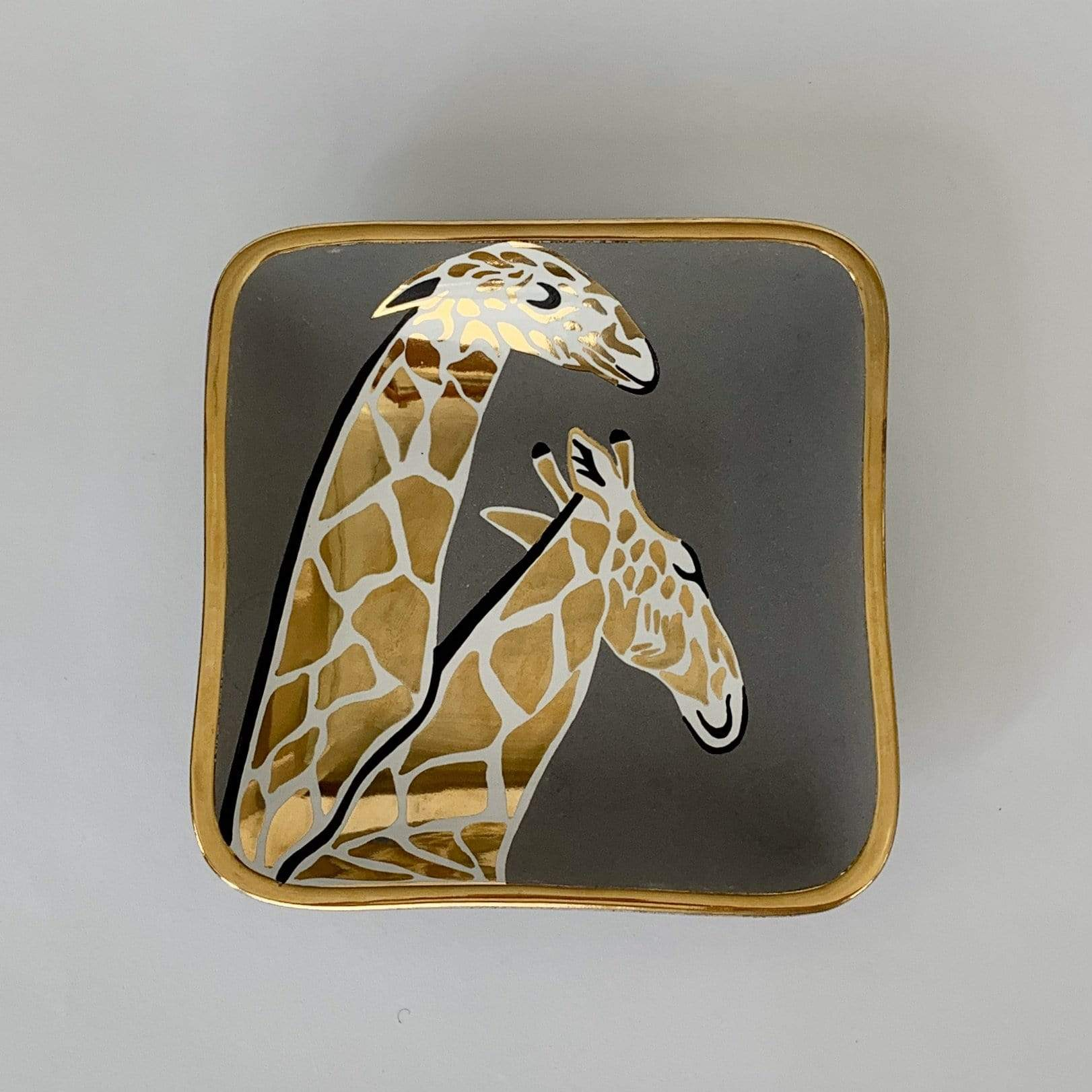 Square Giraffe Bowl