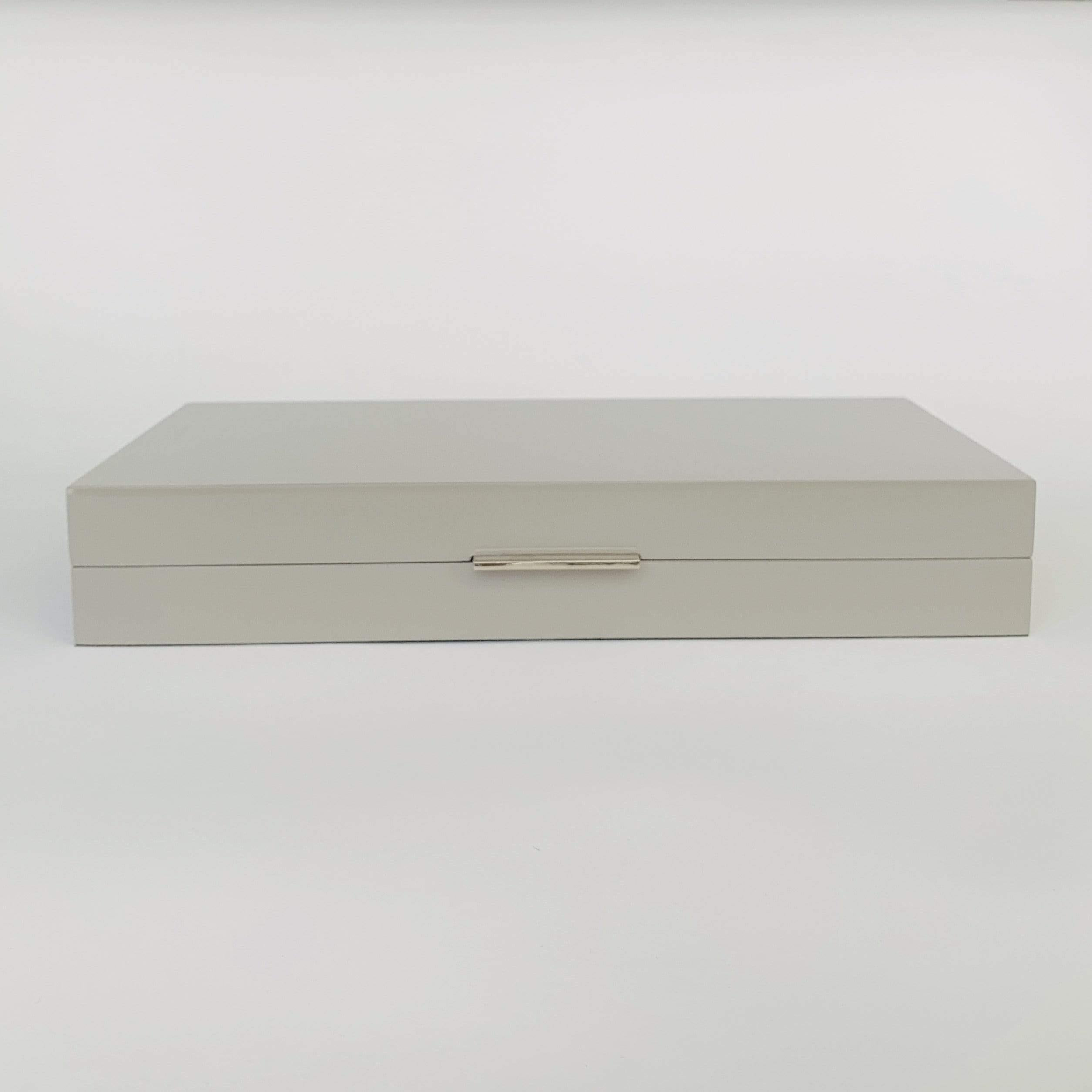 Grey Gloss Box