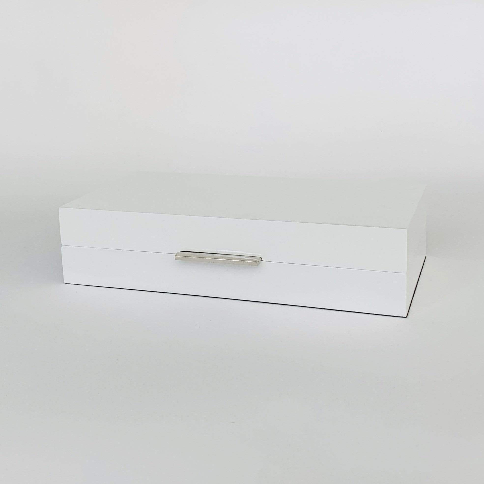 White Gloss Box