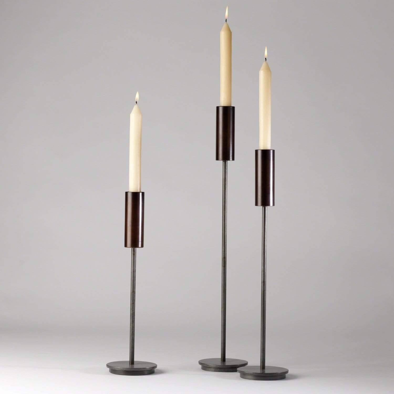 Candle Black Taper Holders