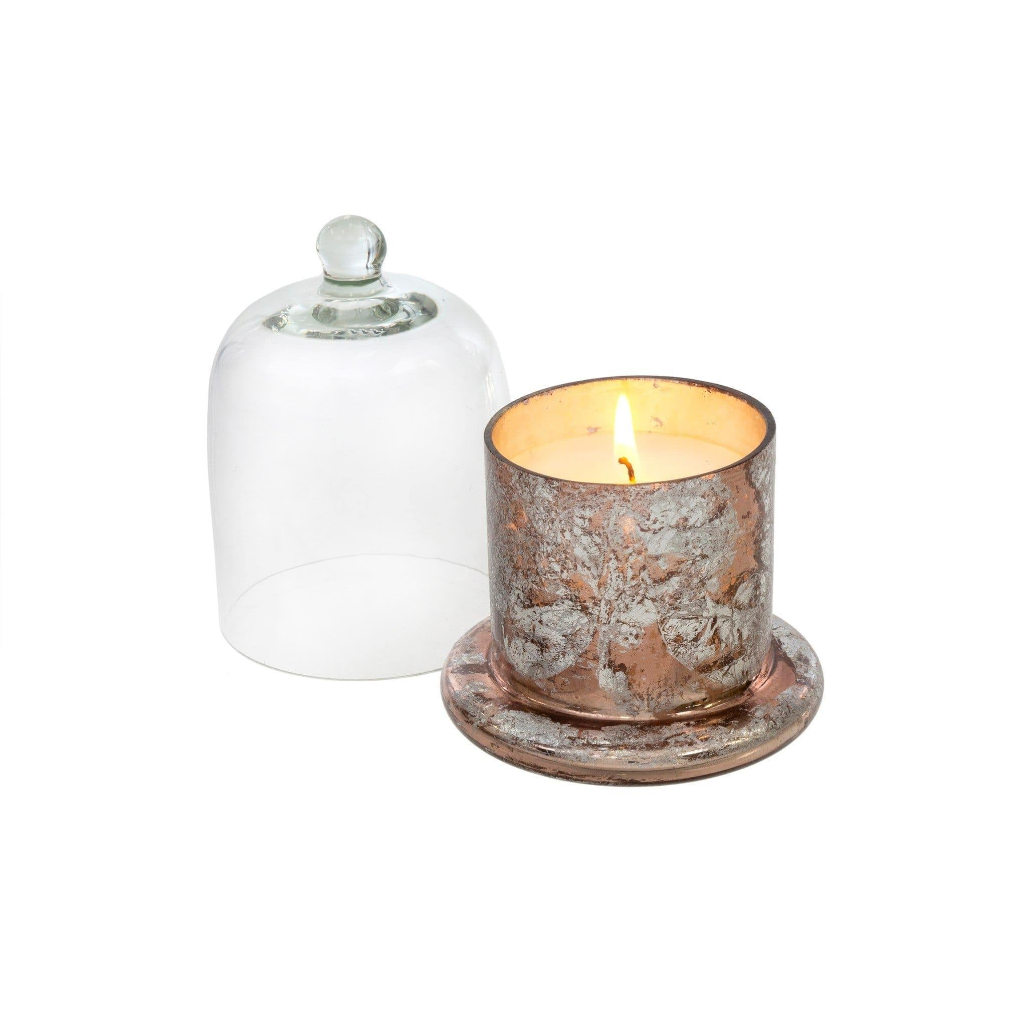 Candle Rose Gold Cloche Candle