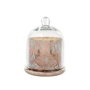 Candle Rose Gold Cloche Candle Large