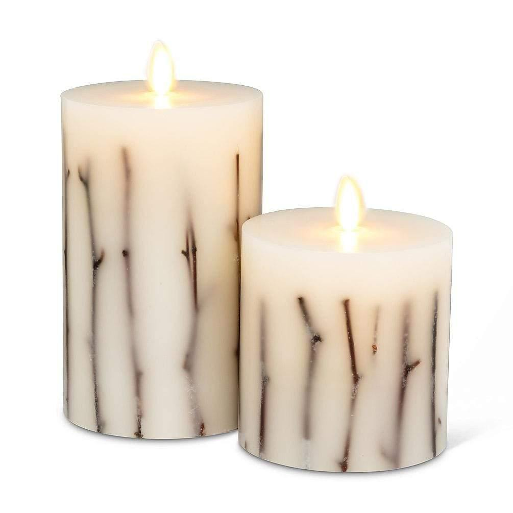 Twig Flameless Candle