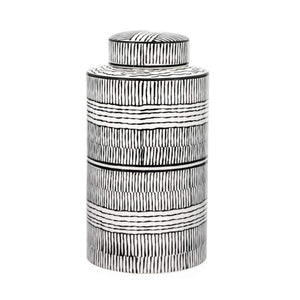 Bamboo Pattern Ceramic Canister