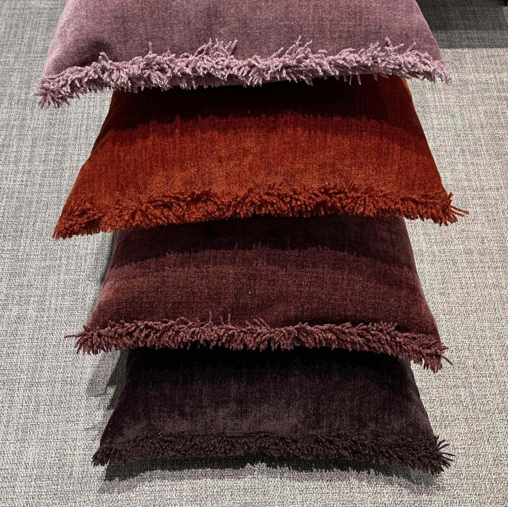 Cushion Bordeaux Nomad Luxe Chenille Cushion