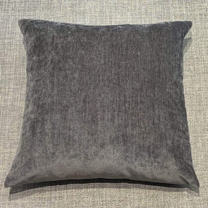 Cushion Graphite Classic Luxe Chenille Cushion 20 x 20 inch