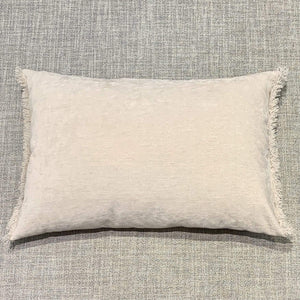 Cushion Oyster Nomad Luxe Chenille Cushion 16 x 20 inch