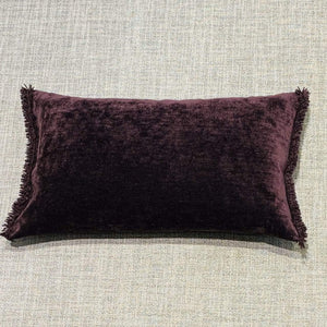 Cushion Plum Nomad Luxe Chenille Cushion 12x20