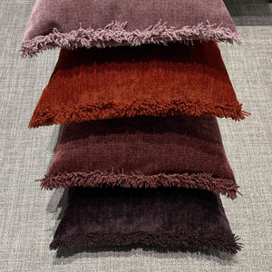 Cushion Plum Nomad Luxe Chenille Cushion