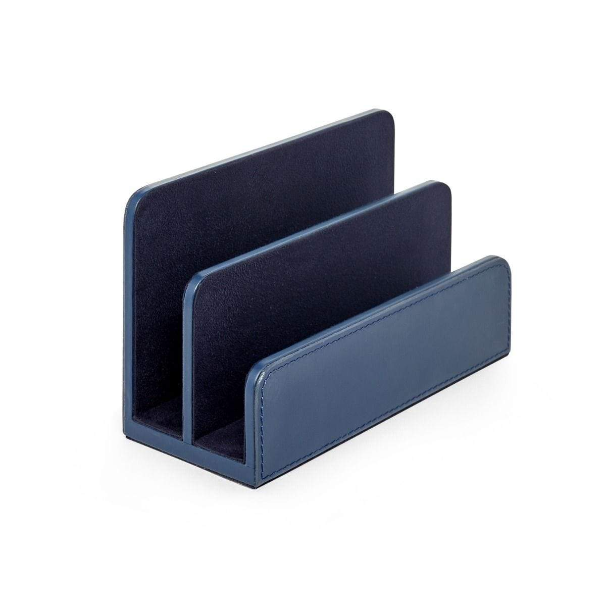 Navy Blue Letter Caddy