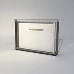 Load image into Gallery viewer, Frame Silver Acrylic Block Frame