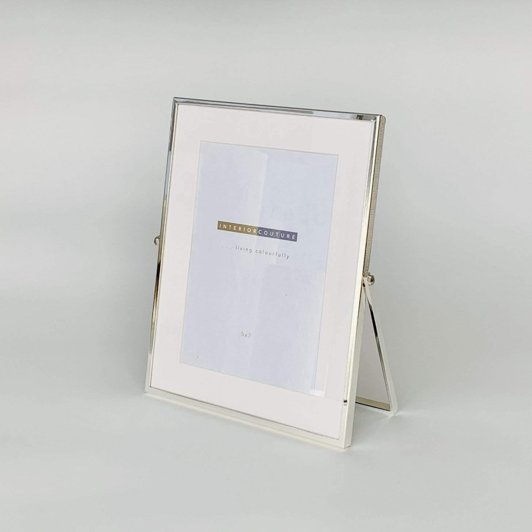 Silver Easel Frame with Matte