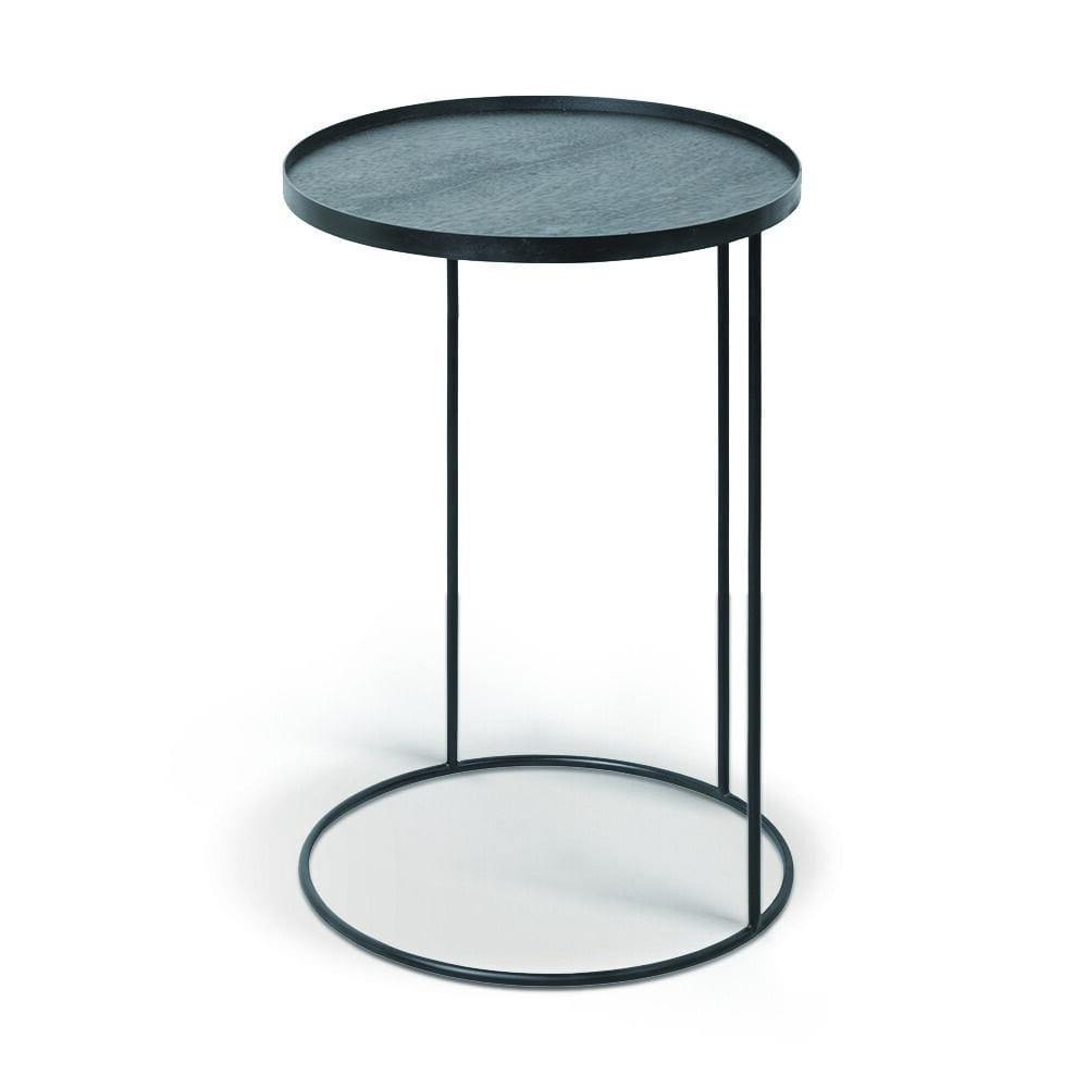 Small Round Side Tray Table