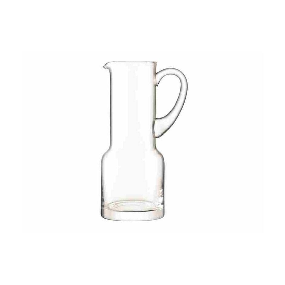 Table Clear Glass Utility Jug
