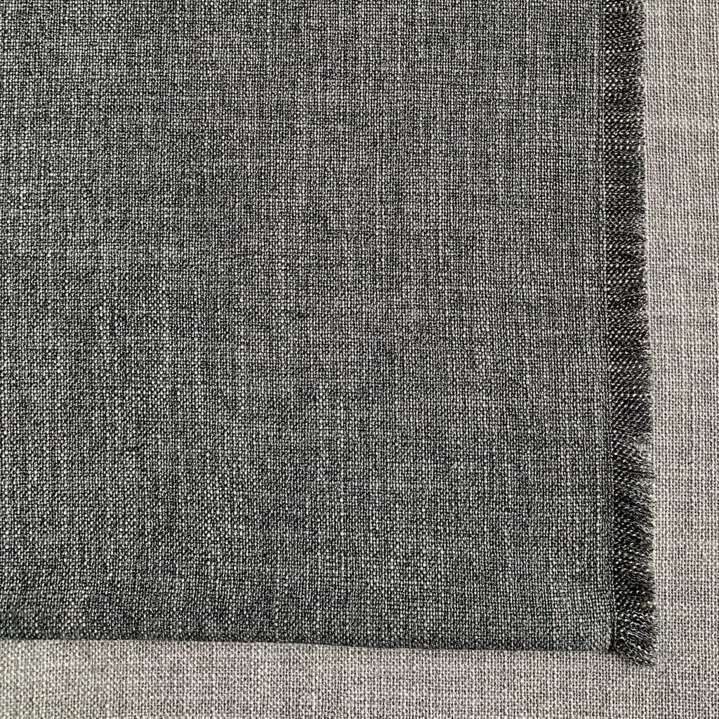 Table Linen Graphite Nomad Heather Linen Placemat