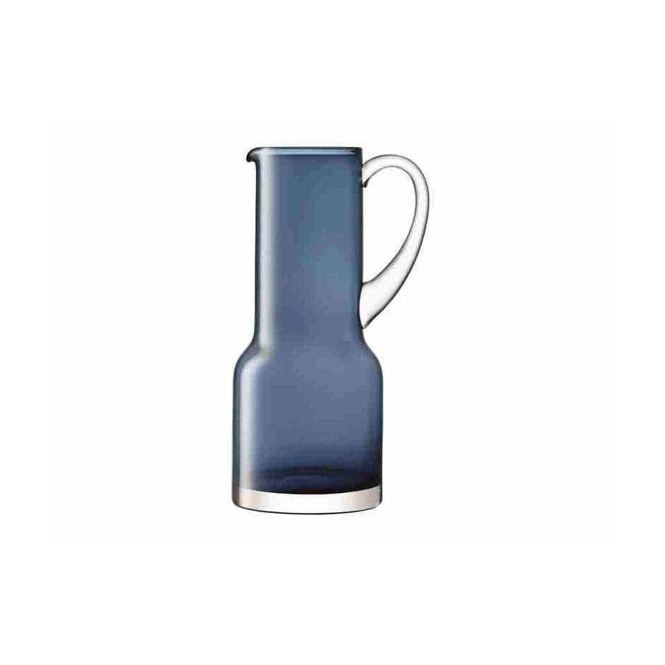 Table Saphire Glass Utility Jug