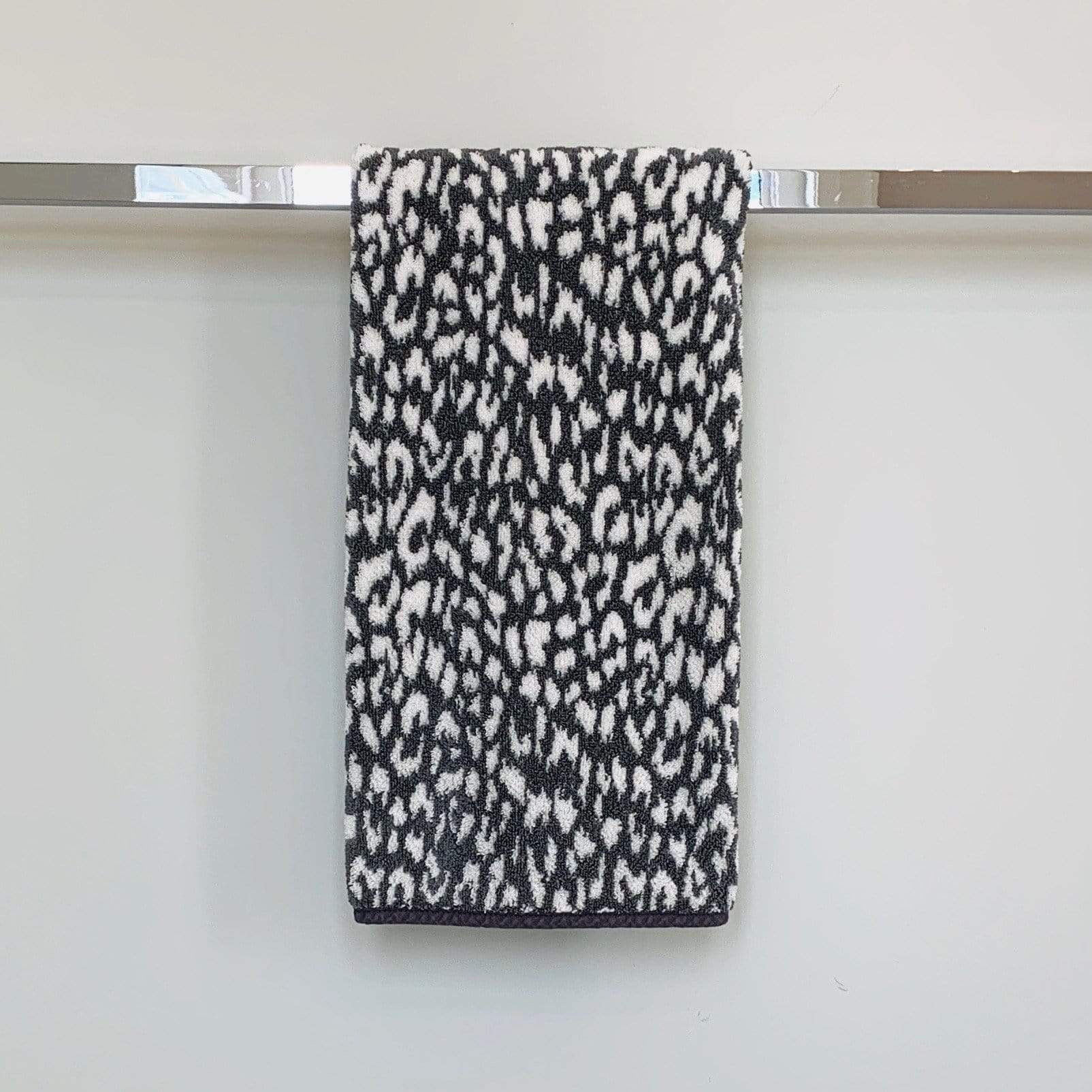 Towel Gris Cheetah Zimba Towel Hand