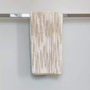 Linen Abstract Stripe Cozi Towel
