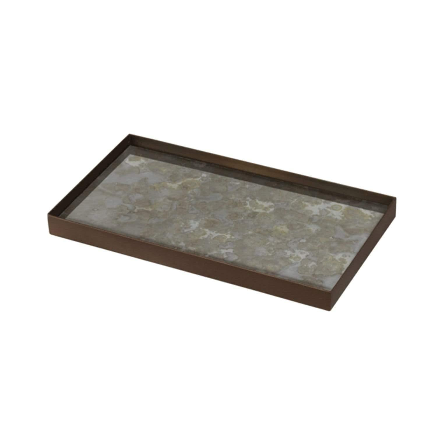 Gold Alchemy Rectangle Valet Tray