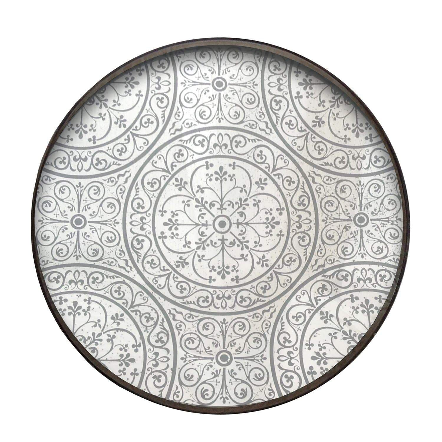 Moroccan Frost Mirror Tray