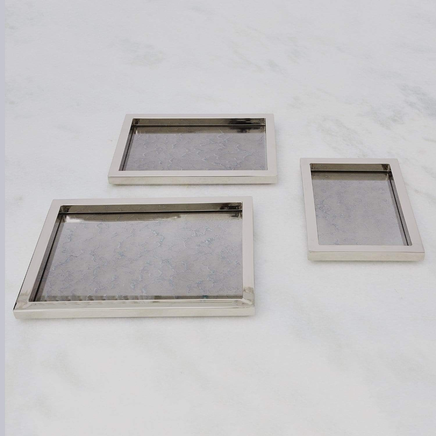 Nickel Stepped Tray