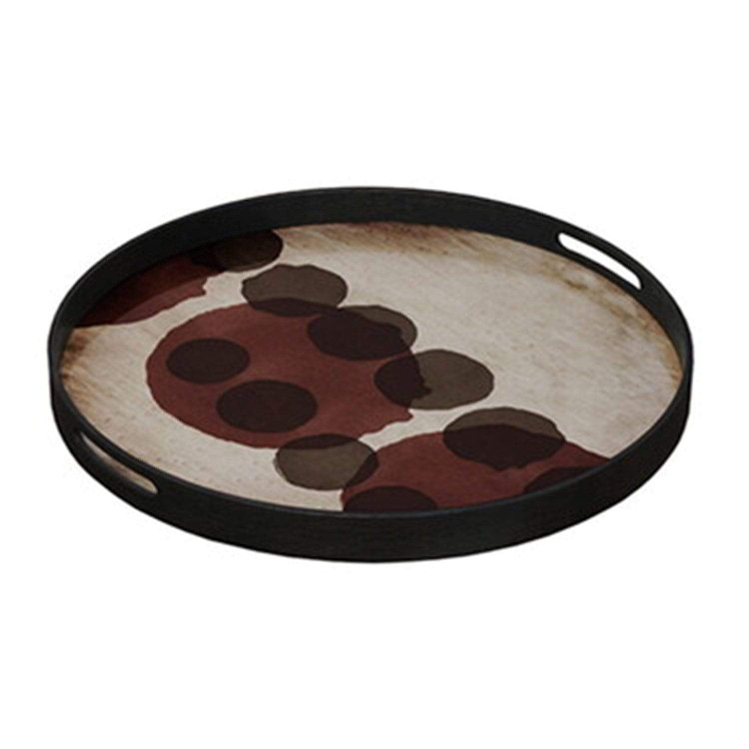Pinot Layered Dots Glass Tray