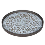 Load image into Gallery viewer, White Marrakesh Wood Tray