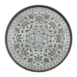 White Marrakesh Wood Tray