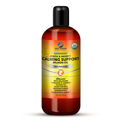 Andy Anand Calming Support Salmon oil with Melatonin