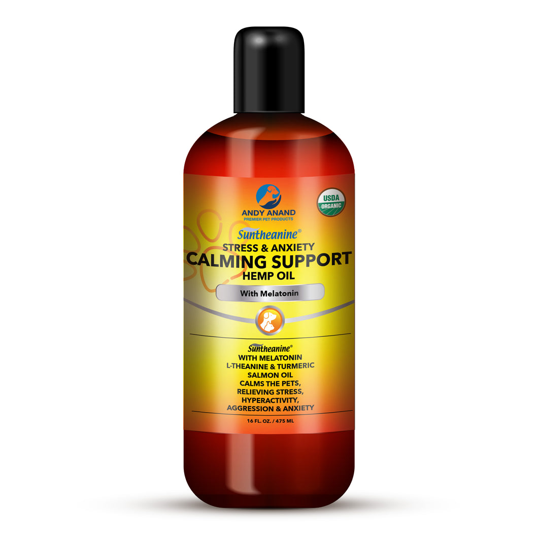 Andy Anand Calming Support Hemp oil with Melatonin