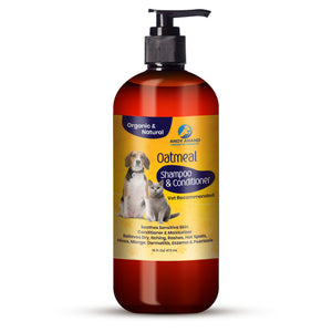 Hira Bahatech Natural Oatmeal Dog Shampoo + Conditioner 473 ML