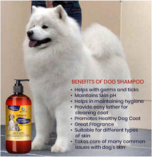 Load image into Gallery viewer, Hira Bahatech Natural Oatmeal Dog Shampoo + Conditioner 473 ML