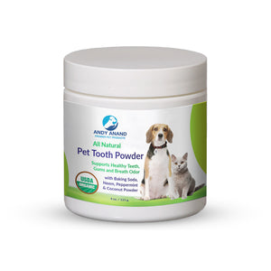 Andy Anand's Organic Pure Chemical FREE Pet Tooth Powder
