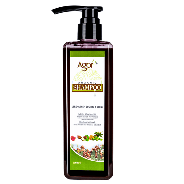 Agor Organic Hair Shampoo (500ml)