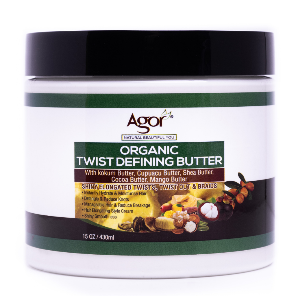 Agor Organic Twist Defining Butter (430g)
