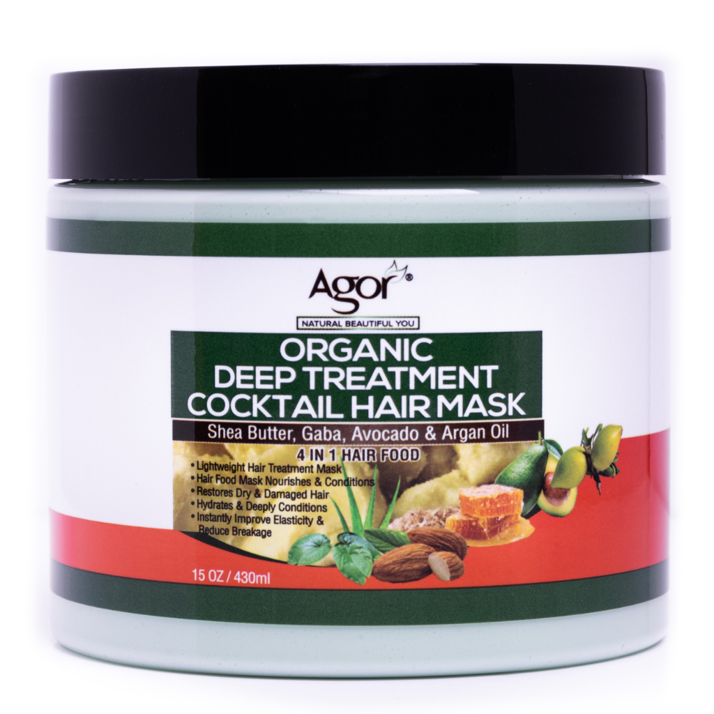 Agor Organic Deep Treatment Cocktail Hair Mask (430g)