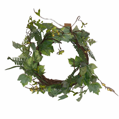 Summer Foliage Wreath