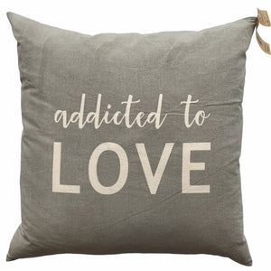 Addicted To Love Pillow - Lady of the Lake