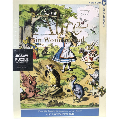 Alice in Wonderland - Puzzle - Lady of the Lake