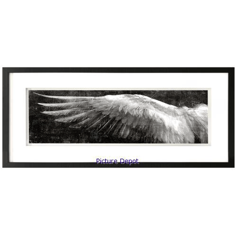 Angel Wings Black Left - Lady of the Lake