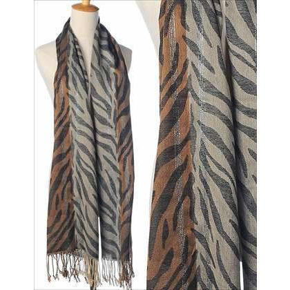 Animal Print Scarf - Lady of the Lake