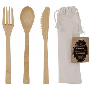 Bamboo Utensil Set - Lady of the Lake