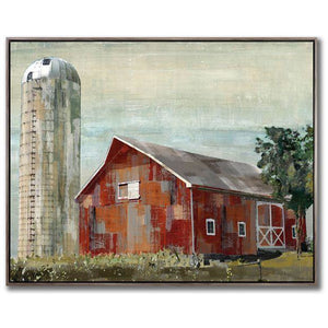 Barn Silo - Lady of the Lake