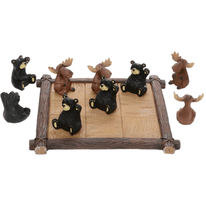 "Bear & Moose ""Tic Tac Toe"" Set - Lady of the Lake"