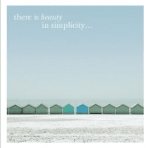 Beauty In Simplicity - Greeting Card - Blank - Lady of the Lake