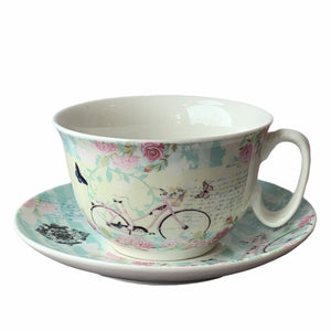 Bicycle - Cup & Saucer - Lady of the Lake