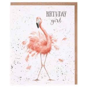 'Birthday Girl' Charming Greeting Card - Lady of the Lake